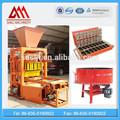 Semi máquina automática para fazer tijolos de cimento blocos para venda