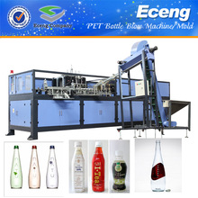 Plastic pet bottle making machine