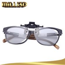 3d glasses clip circular polarized virtual reality