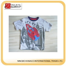 Wholesale low price high quality organic cotton baby t-shirt