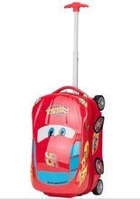 Customise Children Car Design Cartoon Hard Shell Travel Luggage