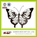 Gros moderne coloré brillant papillon résumé Metal Art décoration murale salon décoration murale