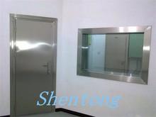 x-ray room door protection of lead