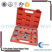 12pcs brake car caliper repair tool used for wokshop