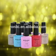 10ml soak off nails polish top & base coat with free sample
