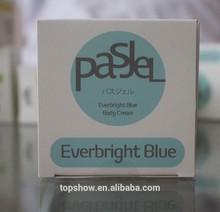 Venda quente preço de atacado tailândia Pasjel Everbright azul branqueamento creme para o corpo