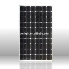 High quality high efficiency pv module solar panel 265w mono