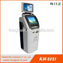 Touchscreen Credit Card Payment Terminal / Bank Card Cashless Payment Kiosk