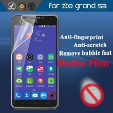 Newest anti reflection matte screen guard/protector for ZTE grand s3