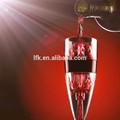 Internacional patente aireador de vino, Fda de la categoría alimenticia LFGB aprobado magia Decanter Wine LFK-002A