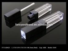 Ft-lg0423 kosmetische heißer verkauf Welt Wide quadrat 9ml wie/san lipgloss tube-container