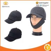 Fashion Cotton Earflaps Hat Beanies Baseball Cap Winter Men Knitted Hat
