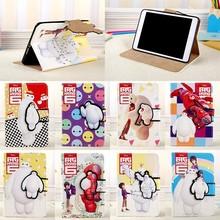 Baymax Print Flip Leather Case For iPad mini/Air/Air 2
