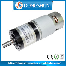 DS-42RP775 12v 24v high torque low speed micro dc planetary gear motor with encoder