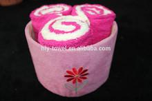 Creative wedding Gift towel cake towel set