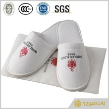 Hotel Disposable Slipper With Nylon Bag Package
