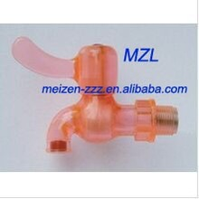 ashionable pvc faucets plastic water tap with single handle