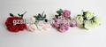 Sjf39 plastik gül kaynaklanıyor, plastik çiçek gül, lateks yapay buket çiçek gül