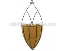 Garden metal wall basket,hanging metal wall basket