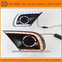 New Arrival Factory Wholesale LED DRL for Toyota Innova High Quality LED Daytime Running Light for Toyota Innova 2013-2015