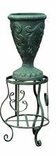 Tall iron flower pot stand & hot pot stand