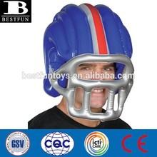 custom made large plastic American inflatable football helmet kids play football helmets for sale