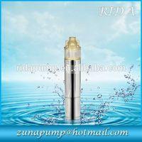 QJ vertical high head water pump stainless steel deep well submersible pump