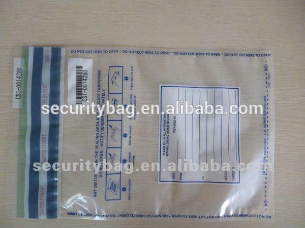 Clear Bank Bags Bank Bags/deposit Bags