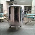 Full automatic cru tanque de água com certificado CE