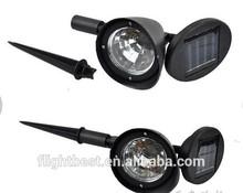 Like the shape of mushroom solar led lights ,Mini solar spot lawn lamp with 3 LED,solar led lamp