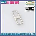 Personalizado logotipo de la marca diferente forma de silicona tirador de cremallera, pvc blando tirador de la cremallera, zipperslider de goma para el bolso/ropa/zapatos
