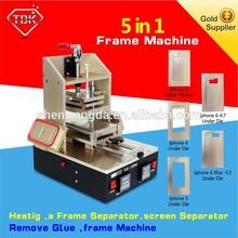 Full set LCD Screen Repair Refurbished Kit 5 in 1 Separator +Vacuum Laminator + Film Laminating machine+ OCA Bubble Remover