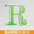 2015 de ahorro de energía led 3d acrílico letra del alfabeto