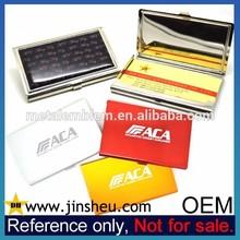 Wholesale Laser Engraving Custom Logo Metal Business Name Card Holder