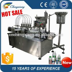 Automatic adhesive cosmetic tube filling machine, liquid filling machine(on sale )