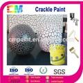 decoração da parede interior de emulsão acrílica spray revestimento crackle
