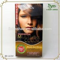 Guangdong OEM factory sale blue hair weave color halal hair color cream