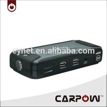 12V emergency auto mobile power jump starter