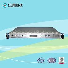 Top design 2 fan 2 power ortel laser 1550nm AGC optic transmitter
