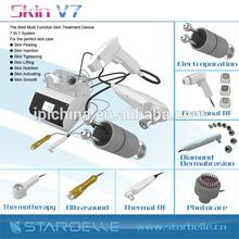 Super effective face lift portable photo dermabrasion ultrasonic device for face - Skin V7