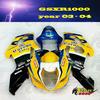 ABS Injection mold Fairing kit for SUZUKI GSXR1000 GSX-R1000 GSXR 1000 K3 03 04 05 2003 2004 2005