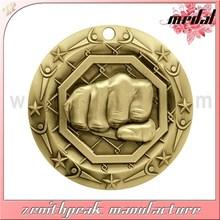 2015 Good quality low price taekwondo metal medal