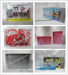souvenir crystal ball cheap wholesale plastic photo frame snow globes
