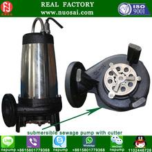 slurry pump/submersible sewage pumps