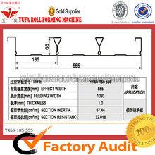 YUFA 555 Automatic Floor deck plate cold roll forming machine, aluminium sheet forming machine,YUFA 555 Automatic Floor deck pl