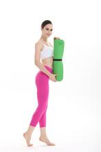 Natural rubber Black Updat yoga mat /adult changing mat