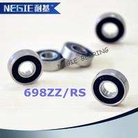 Mini ball bearing drawer slides 698 RS ZZ shower door bearing swivel bearing
