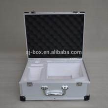 Aluminum Instrument Carrying Case with Custom Foam Insert