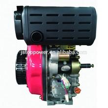 12hp air-cooled single cylinder copy kama diesel engine