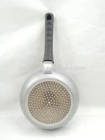 MSF-LAFP-23 Forged aluminum non stick fry pan as seen on tv with removable bakelite handle saving space & cost